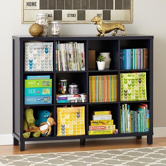 Cubic Bookcase Midnight Blue 12 Cube Organizacion Habitacion Proyectos