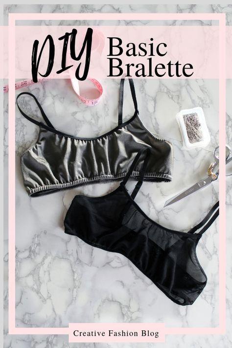 Photo of Easy Printable Bralette Pattern w/ Video – Creative Fashion Blog