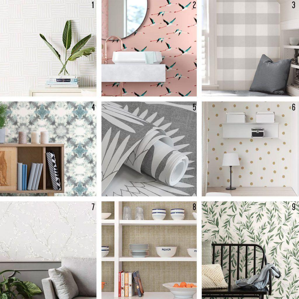 How To Hang Peel Stick Wallpaper On Video Young House Love Peel And Stick Wallpaper Young House Love Red Velvet Chair
