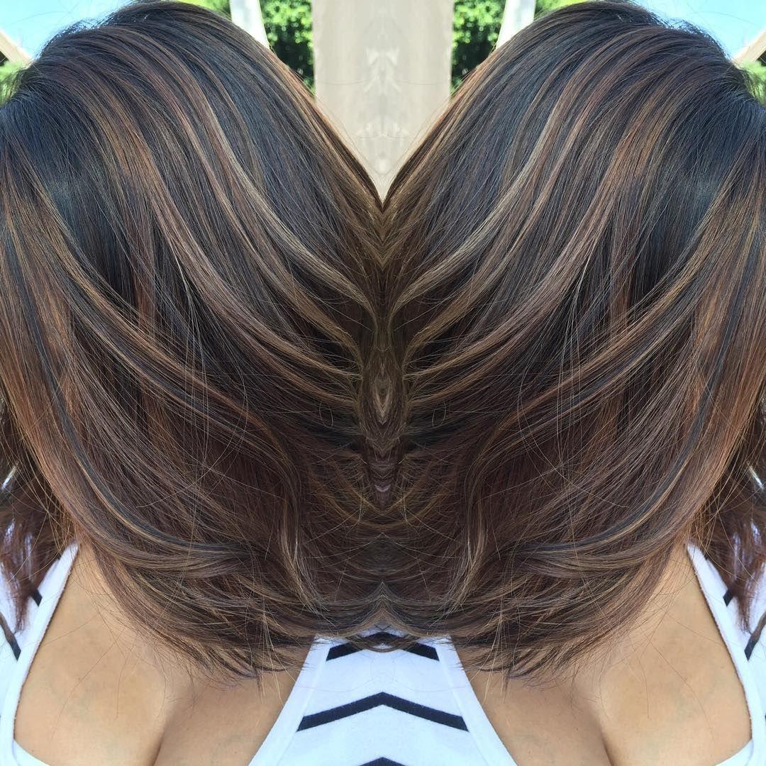 Colores de cabello en rayitos