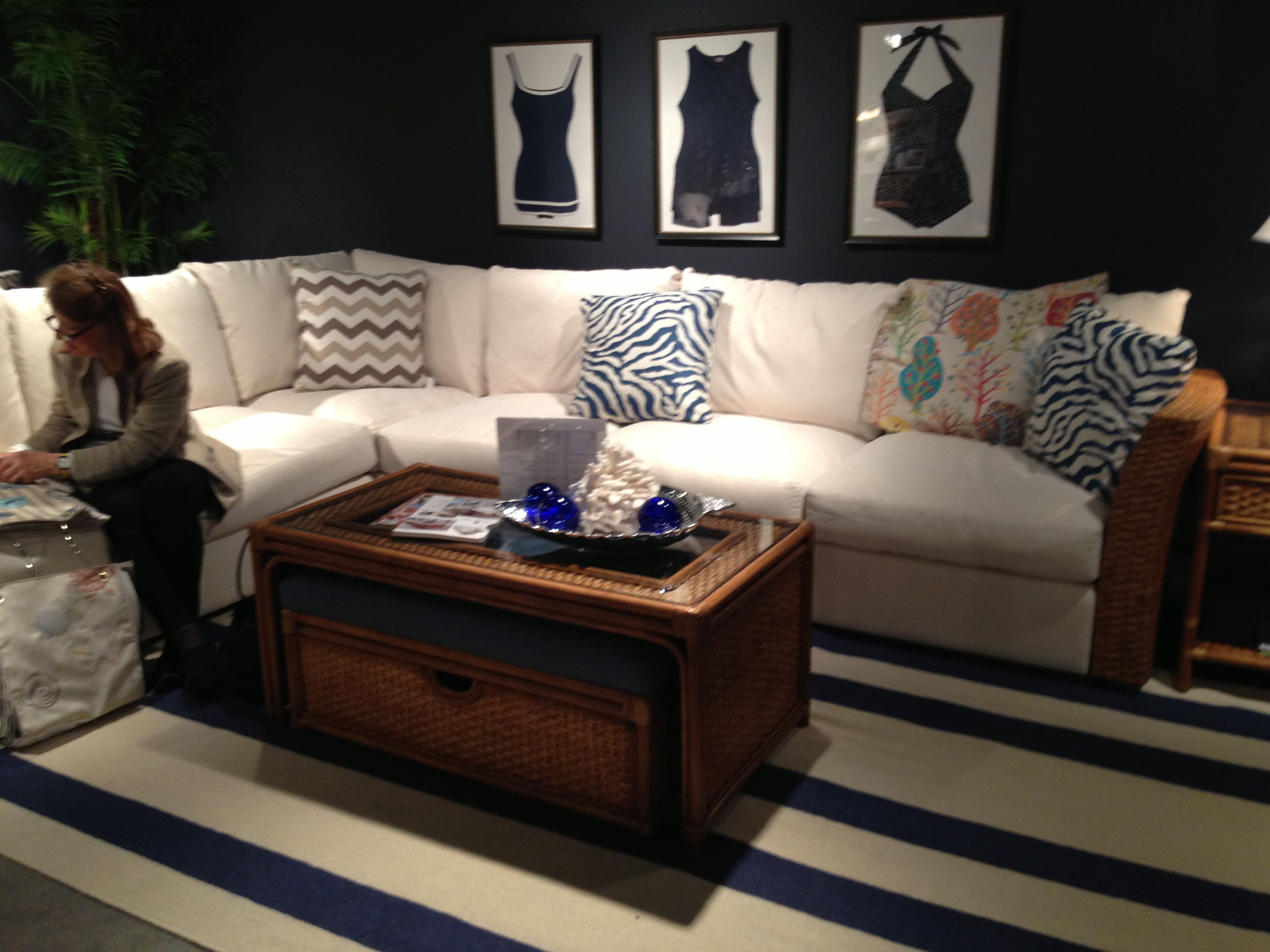 12 X 8 Sectional Sofa Custom Fabric Handmade In North Carolina