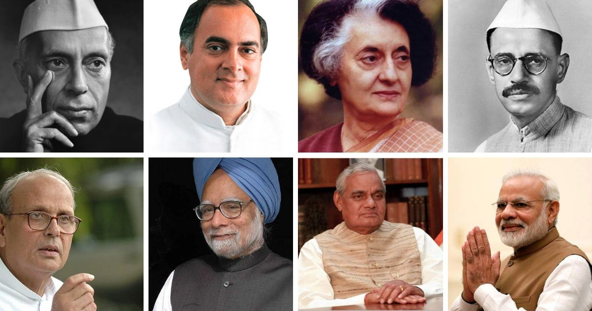 List of Prime Ministers of India in detail Prime