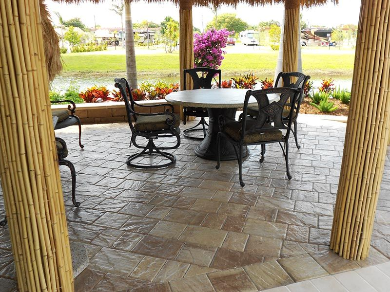 tremron stonehurst sand dune pavers with sealer ... on Dune Outdoor Living id=52503
