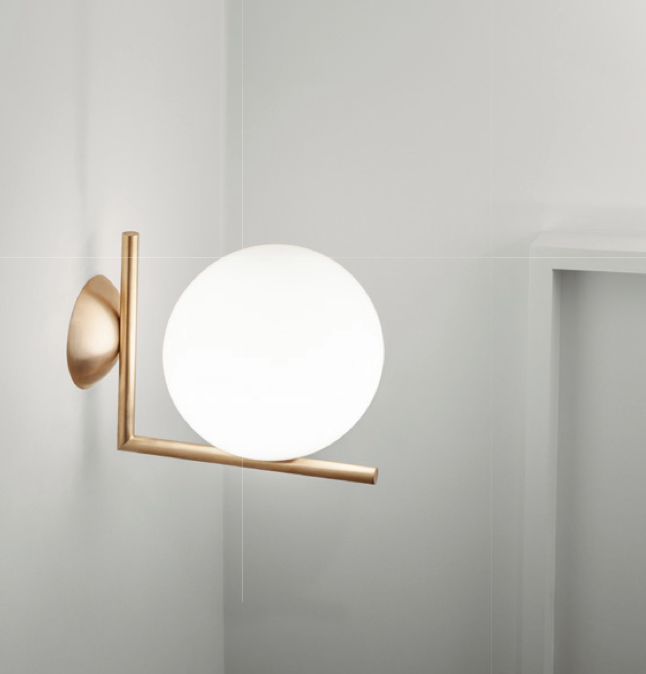 Flos ic lights 300 c w2 wall or ceiling light