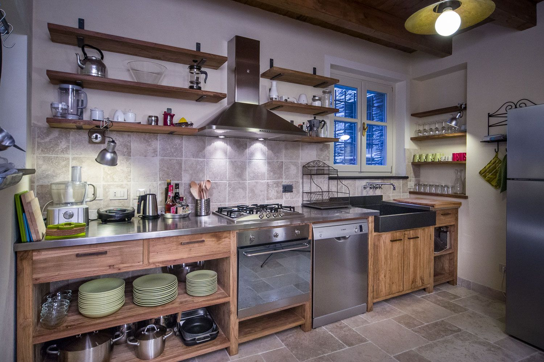 cucine acciaio e legno - Cerca con Google | NoraLynnKitchen ...