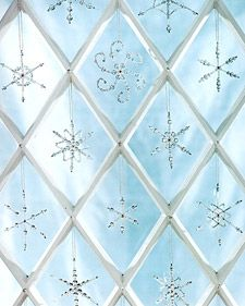Handbeaded Snowflakes