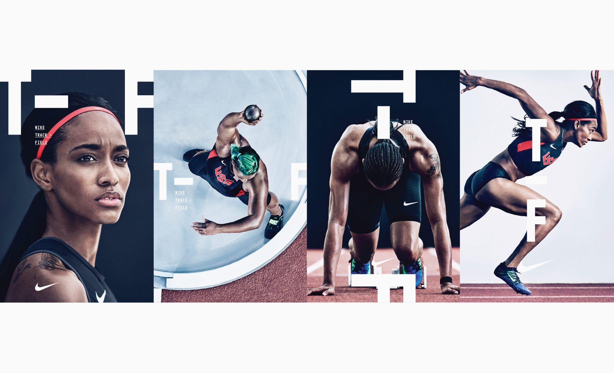 Inmigración Ordenado experimental  Nike - Track and Field — Build   Track and field, Nike track and field, Nike  design