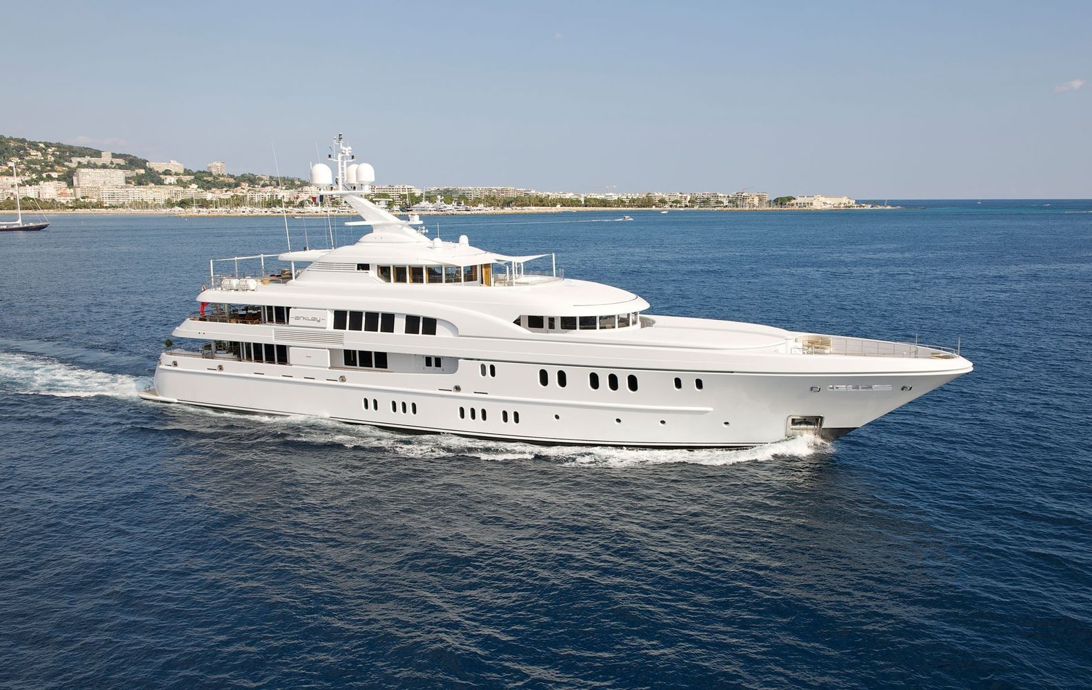 Luxury Yacht for charter, Super yacht Arkley our mega yacht On Emporium Yachts