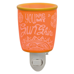 You Are My Sunshine Plug In Scentsy Warmer Candles For