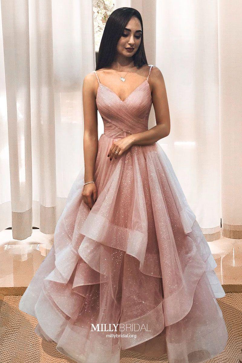 Princess Pink Prom Dresses 2020 �