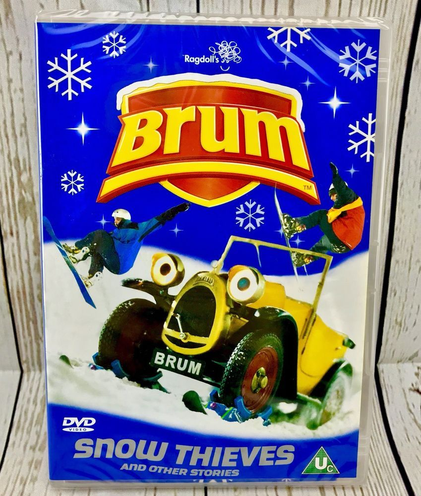 Brum Snow Thieves And Other Stories Dvd Brand New Sealed Original