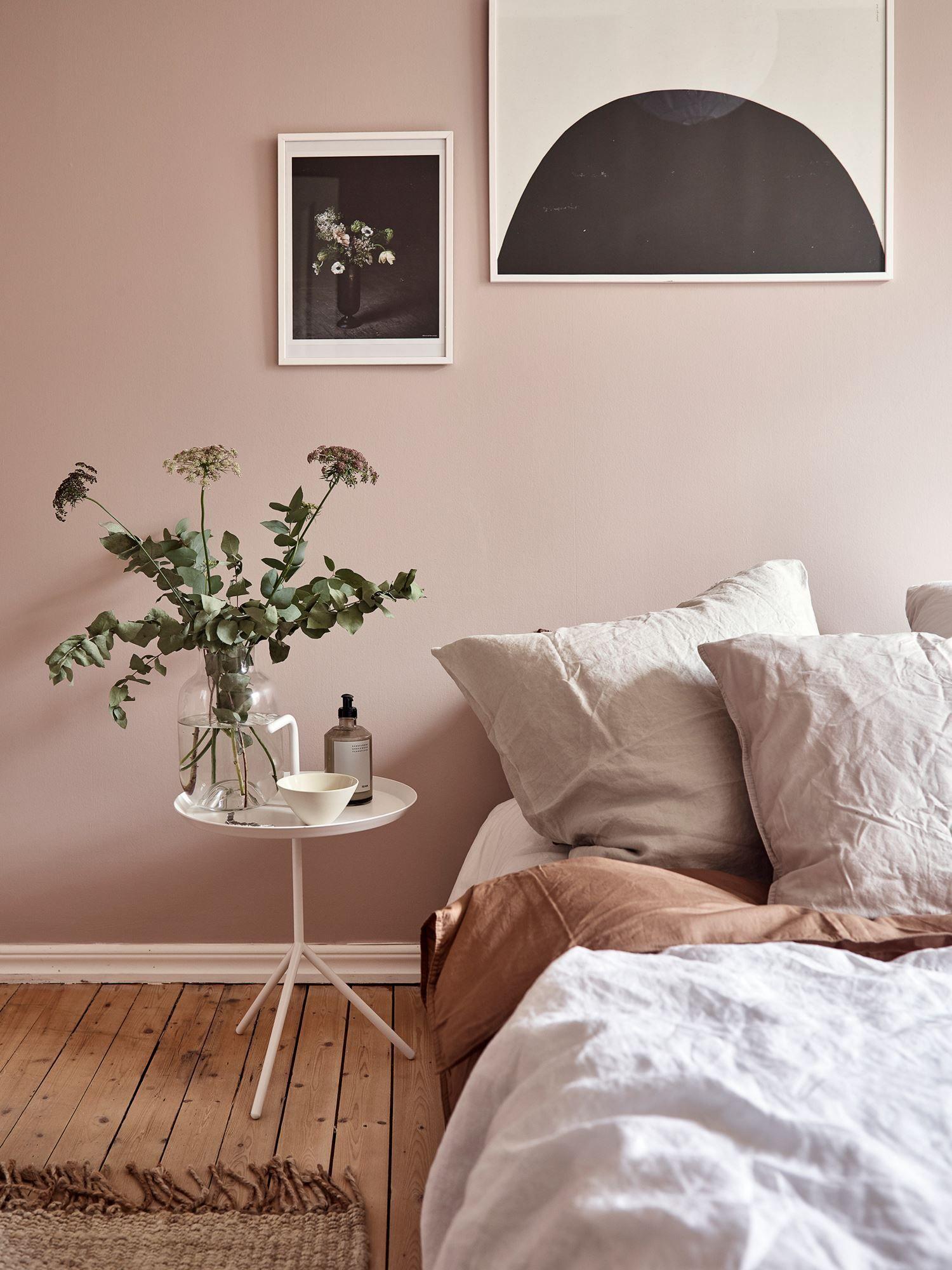 Dusty Pink Bedroom Walls Coco Lapine Design Dusty Pink Bedroom Pink Bedroom Walls Bedroom Wall Colors
