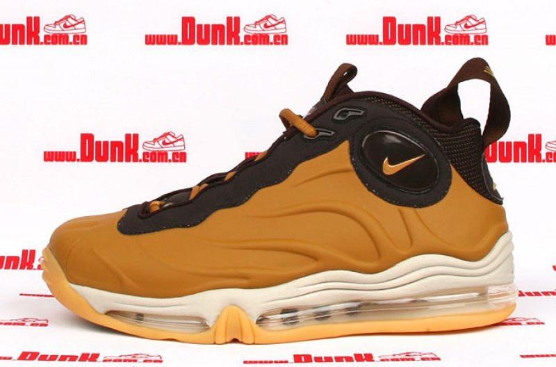 super popular 0529e fb655 Nike Total Air Foamposite Max Wheat   Brown