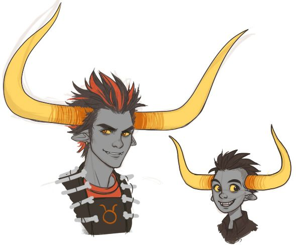 Rufio and Tavros Nitram. There comes a time in every Nitram troll's life when you realise, your horns might just be too enormous to breach the threshold of functional. Today is not that day, Rufio.