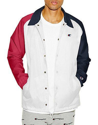 hot sales b07de 4e698 Champion Life™ Men s USA Coaches Jacket West Breaker Edition