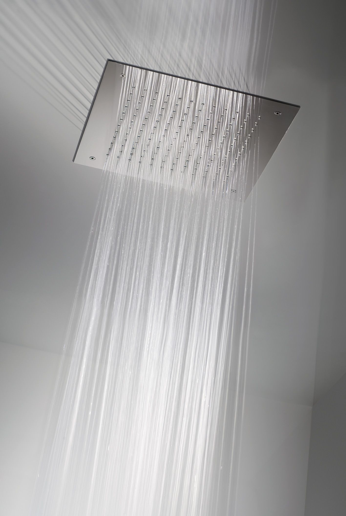 Square Concealed Shower Head Available in two sizes: 500mm or 380mm ...