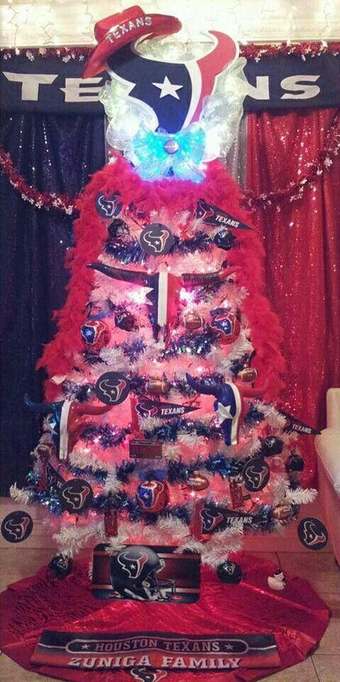 Houston Texans - Houston Texans Oh Christmas Tree, Oh Christmas Tree Houston