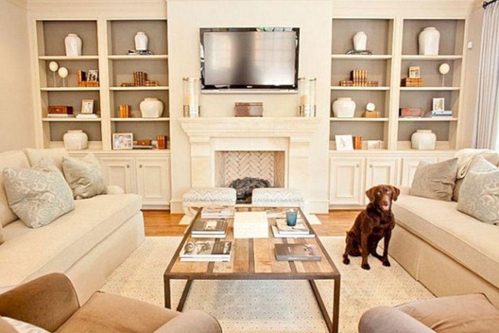 23 Extraordinary Bookshelves Ideas That Your Make Amaze Family Room Wall Shelves Living Room Bookshelves In Living Room Sectional Living Room Layout