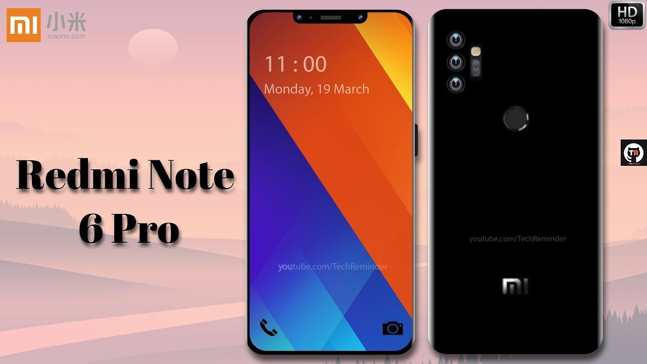 Xiaomi Redmi Note 6 Pro - With 5G, 48 MP Triple Camera, 8GB