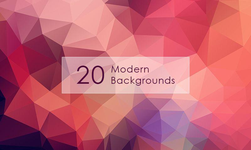 Freebie 20 Modern Backgrounds Geometric Background Design Freebie Background