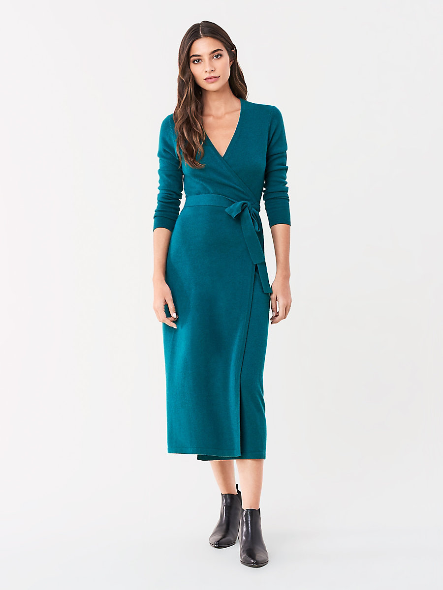 50+ Astrid wool cashmere midi wrap dress ideas in 2021