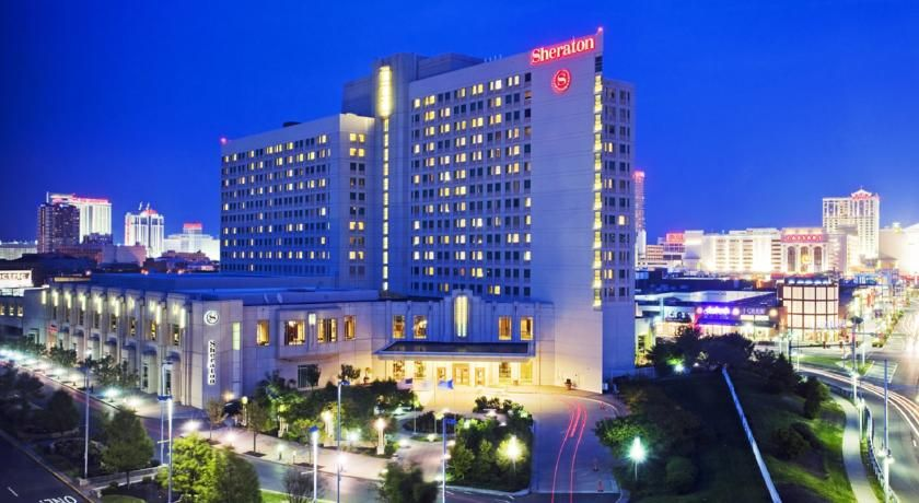Sheraton Atlantic City Convention Center Atlantic City Located In The Heart Of Atlantic City This Hotel Is Atlantic City Hotels Atlantic City Starwood Hotels