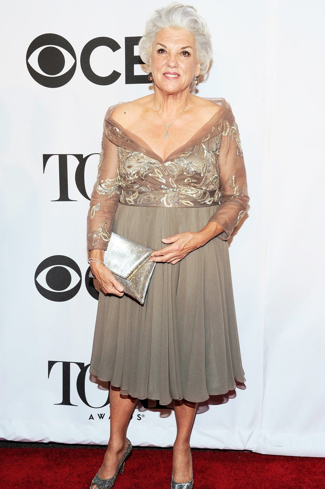 Tyne Daly at the Tony Awards.