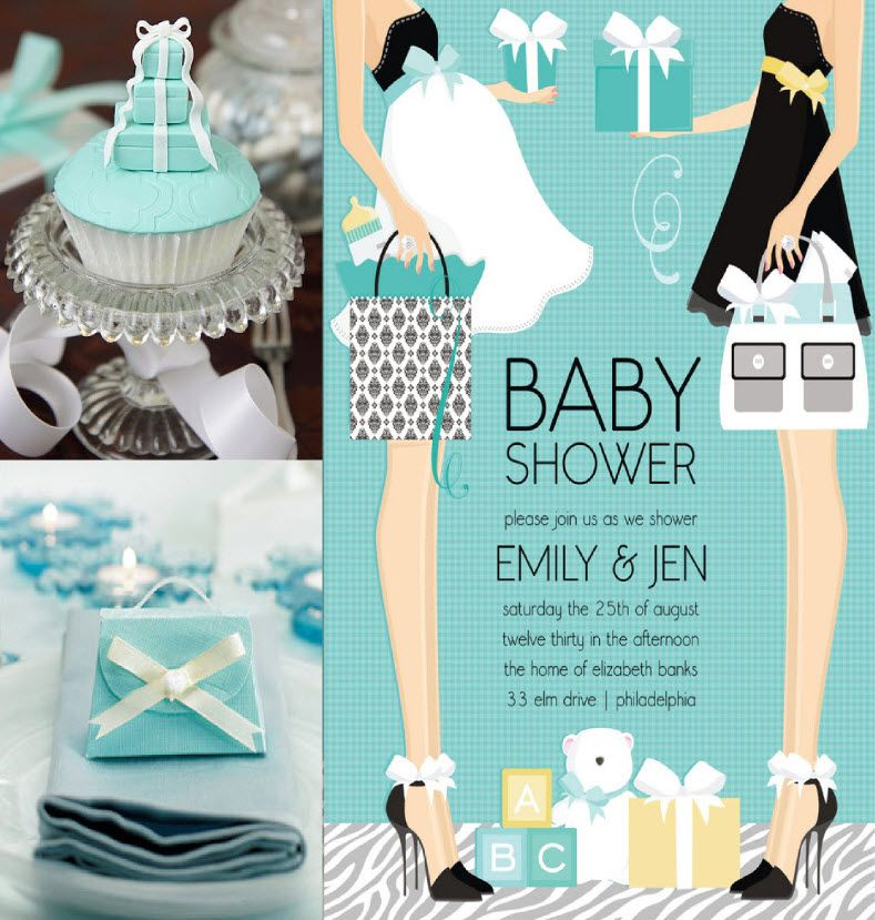 turquoise for baby shower | Sassy & Chic – NEW Doc Milo Invitations ...
