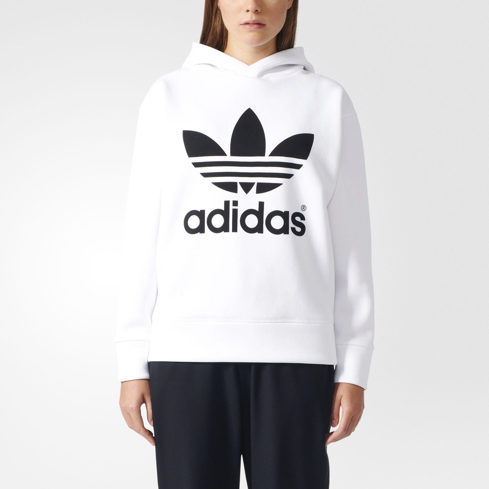 Adidas Hy Hoodie White Adidas Us Women Hoodies Sweatshirts Hoodies Womens Adidas [ 2000 x 2000 Pixel ]