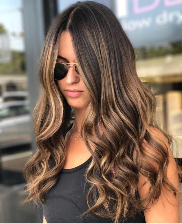 53 Schmeichelndes braunes Haar mit blonden Strähnen als Inspiration für Ihre n...,  #als #blo... #balayagebrunette