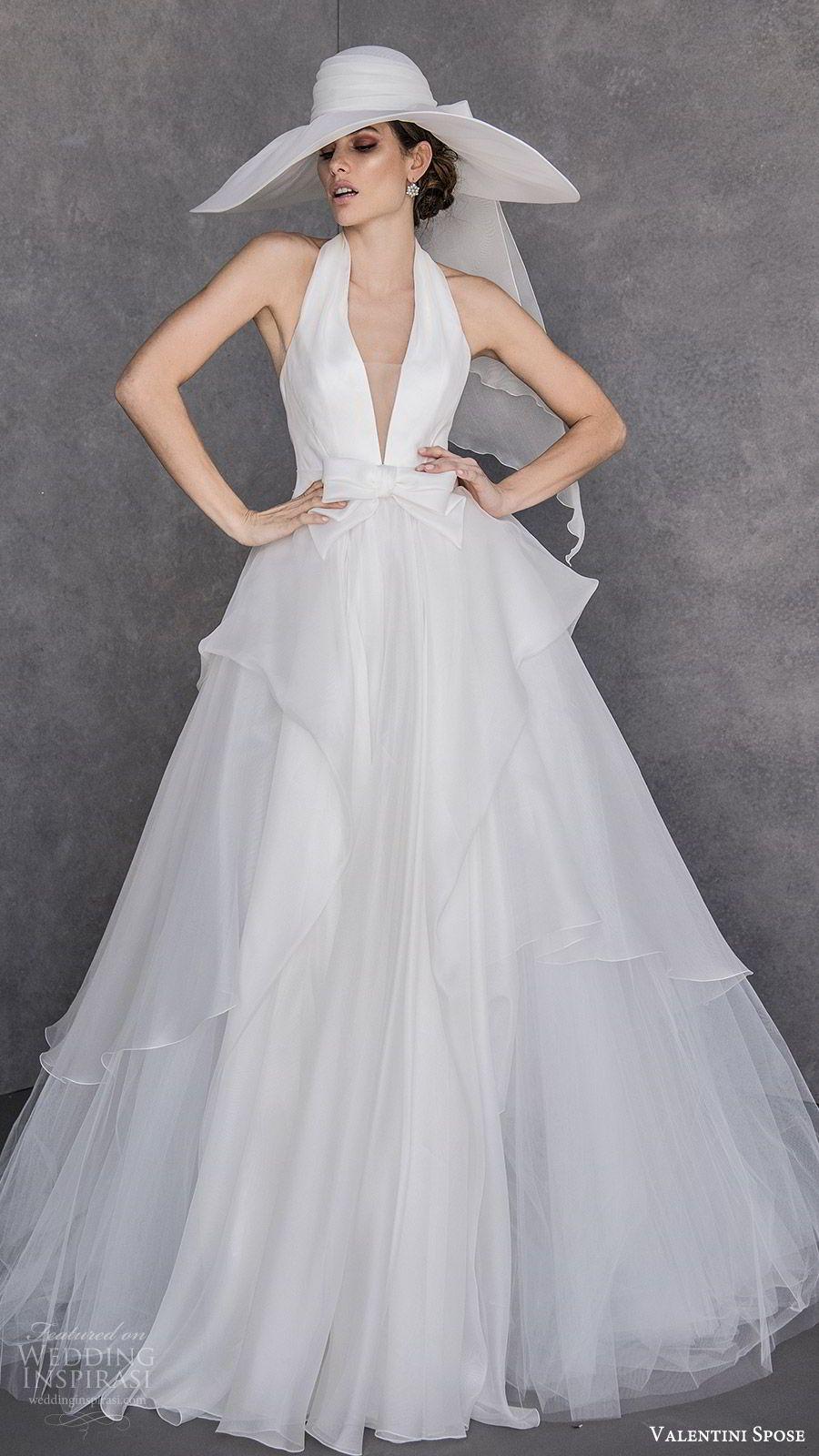sports shoes fc791 4a198 Valentini Spose Spring 2020 Wedding Dresses | vestiti nel ...