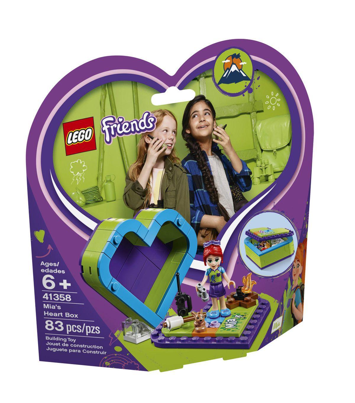 Lego Friends Mias Heart Box 41358 Products Lego Friends Lego
