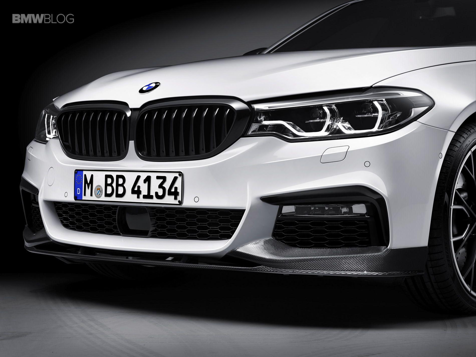 World Premiere: 2017 BMW 5 Series Sedan with M Performance