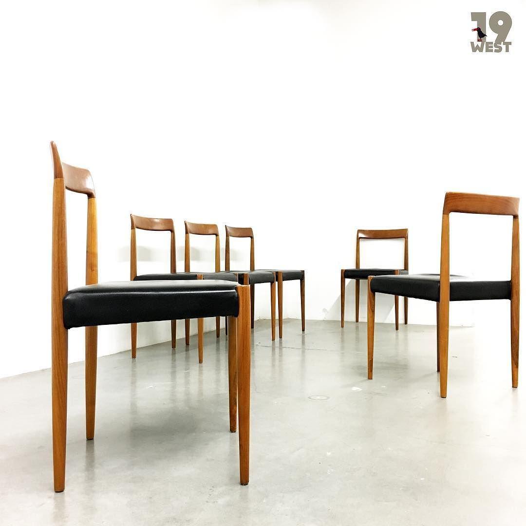 Bald bei www.19west.de: Sechs Stühle aus den 1960er Jahren ...