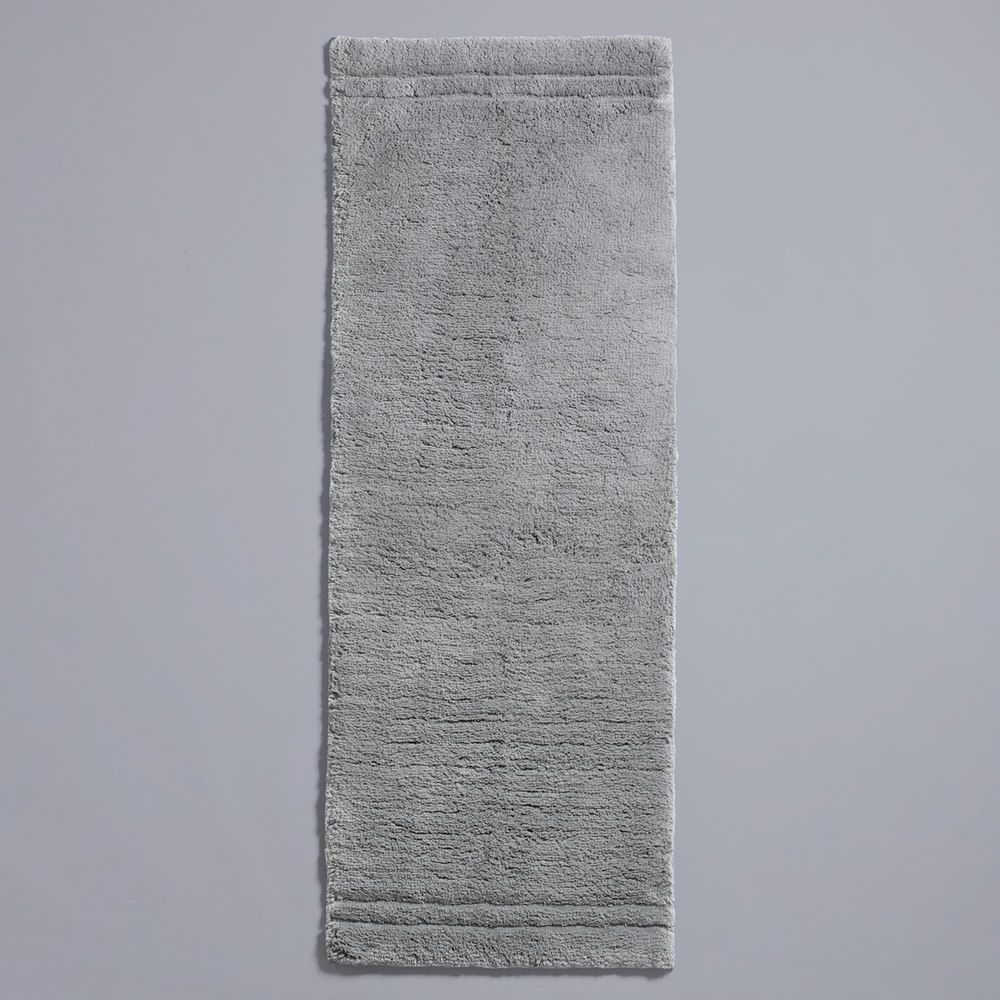 Simply Vera Vera Wang Signature Cotton Bath Runner, Silver