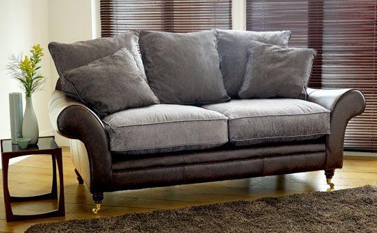 Fabric Leather Sofa Modern