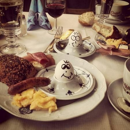 Hotel Goldener Hirsch, Breakfast Time. Found on Tripadvisor, courtesy of MaViDouk #hotel #breakfast #RothenburgobderTauber