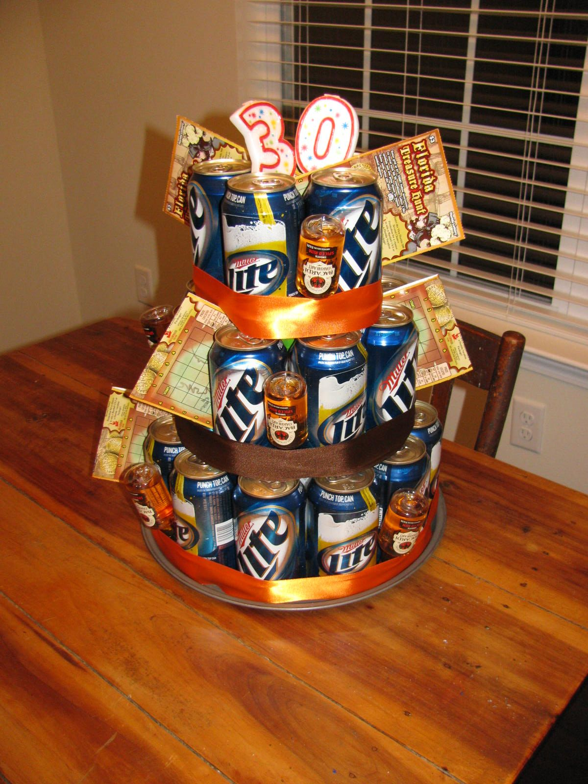 Beer cake happy 30th birthday to my hubby happy 30th