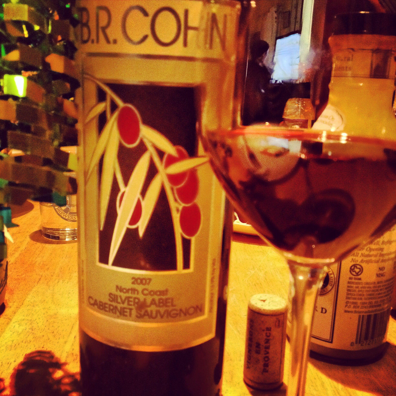 Br Cohn Winery Cabernet Sauvignon 2007 Yum Wine Bottle Favorite Wine Sauvignon