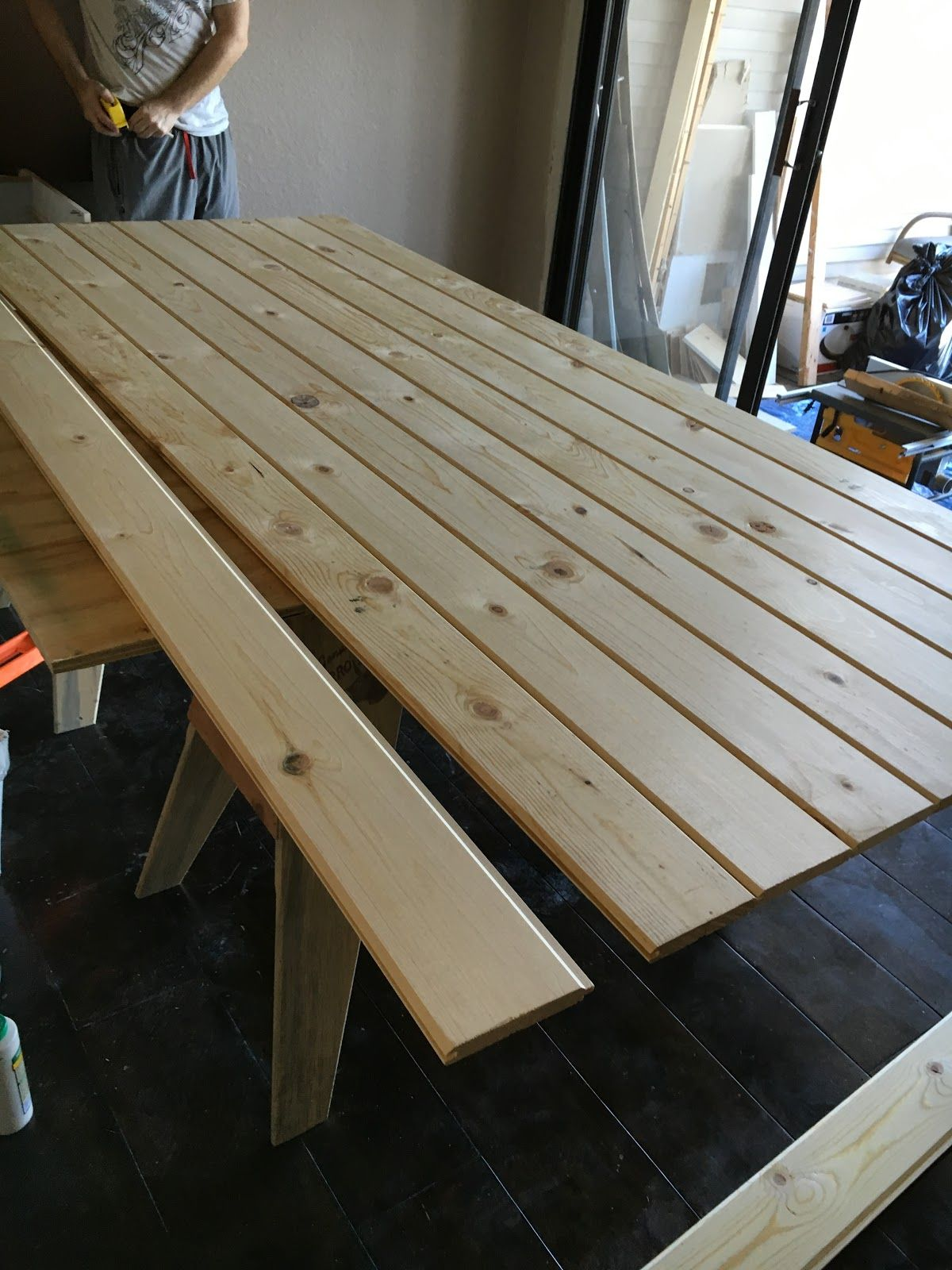 Tongue And Groove Planks In A Simple Diy Sliding Barn Door