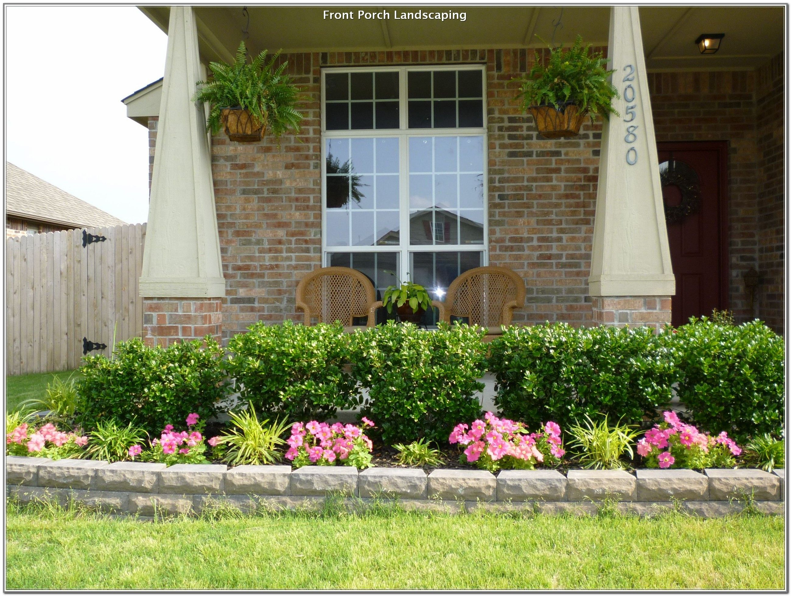 24++ Front porch flower bed ideas ideas in 2021