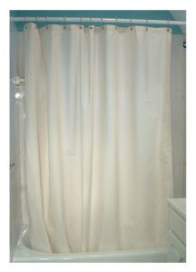 Hemp Shower Curtain Mildew