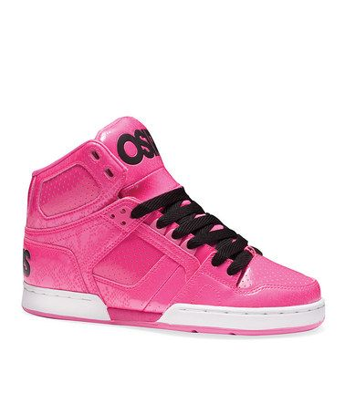 3890b5ce7f Take a look at this Pink & Black NYC 83 Slim Sneaker by Osiris Shoes on #zulily  today!