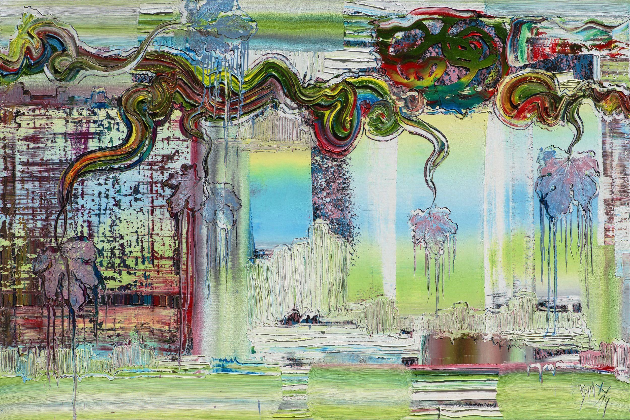 pin auf moderne kunst brixy werkserie horizon bilder günstig japanischer maler modern