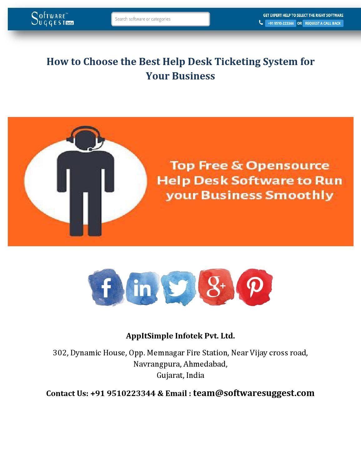 Helpdesk Ticketing Software Help Desk Software Help Desk