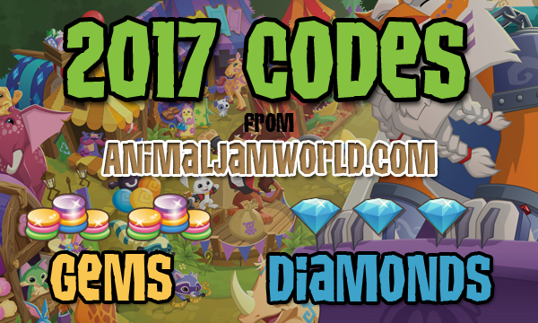 New Animal Jam Codes For Free Gems And Diamonds List Of Working Animal Jam Promo Codes Cheats Updated Every Mo Animal Jam Codes Animal Jam Work With Animals