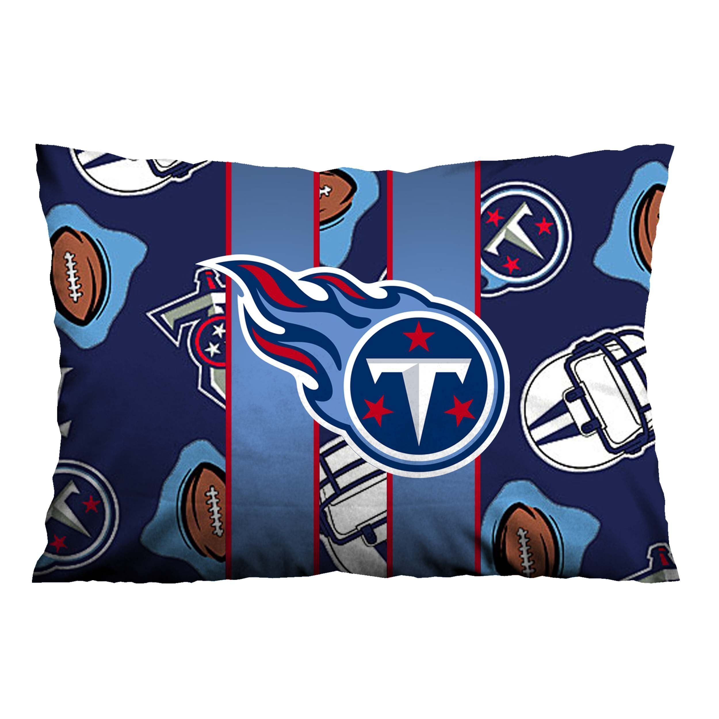Tennessee Titans Nfl 1 Pillow Case Cover Casefine Tennessee