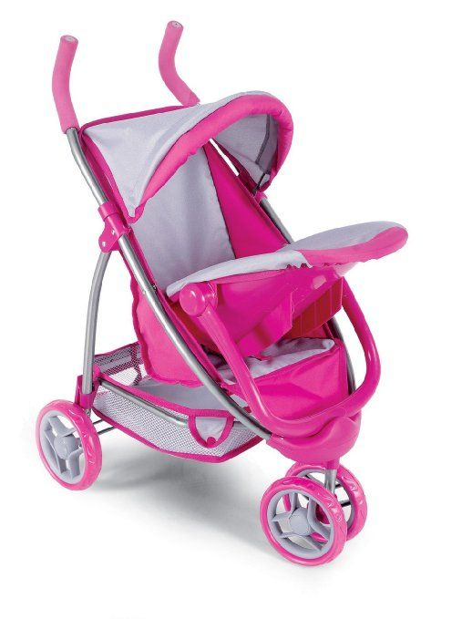Amazon Com 2 In 1 Doll Stroller With Infant Car Seat Toys