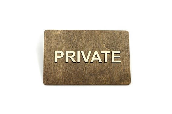 private door sign no access authorized personnel only door signs
