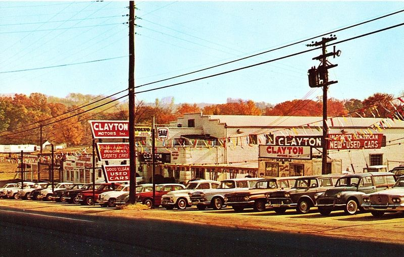 Clayton Motors Inc., Knoxville, TN, 1960s East tennessee